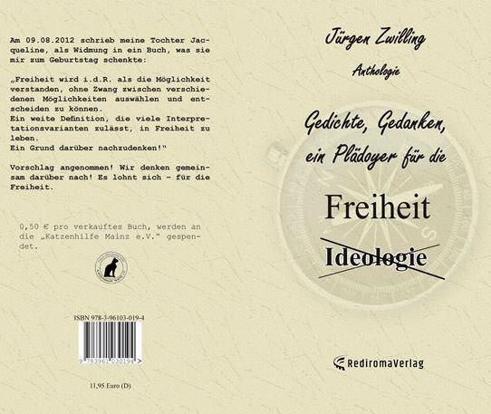 Gedichte, Gedanken, ein Plädoyer für die Freiheit ANTHOLOGIE cover
