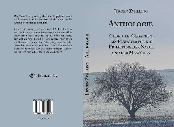 Gedichte, Gedanken, ein Plädoyer für die Erhaltung der Natur und der Menschen ANTHOLOGIE cover