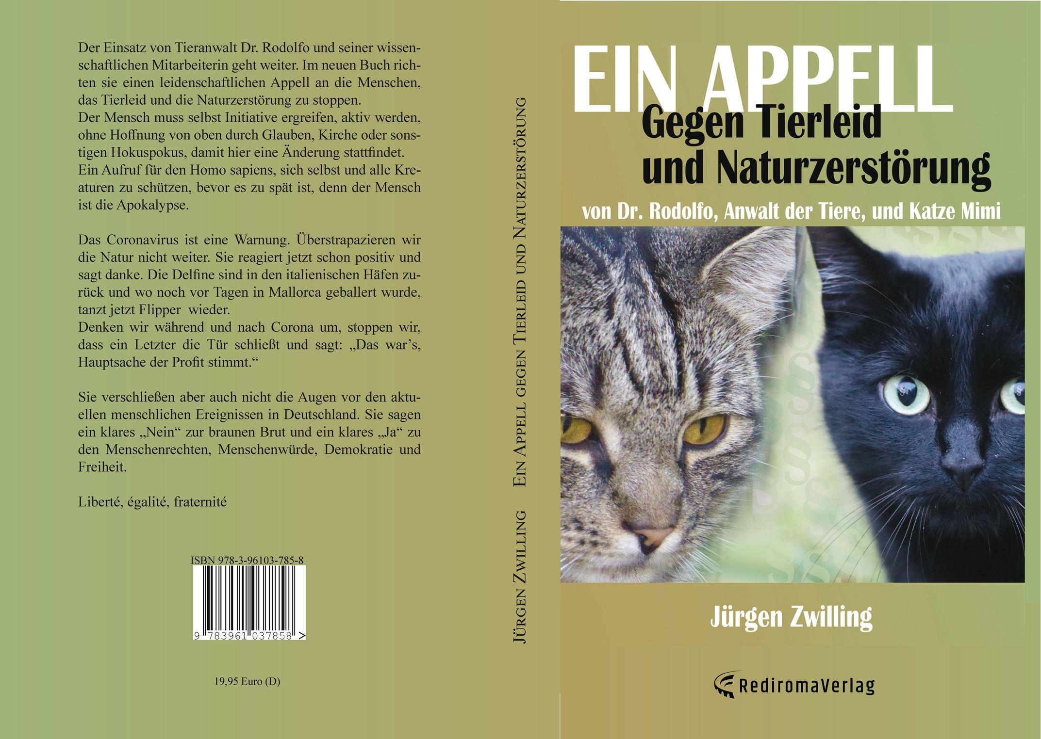 Ein Appell gegen Tierleid und Naturzerstörung