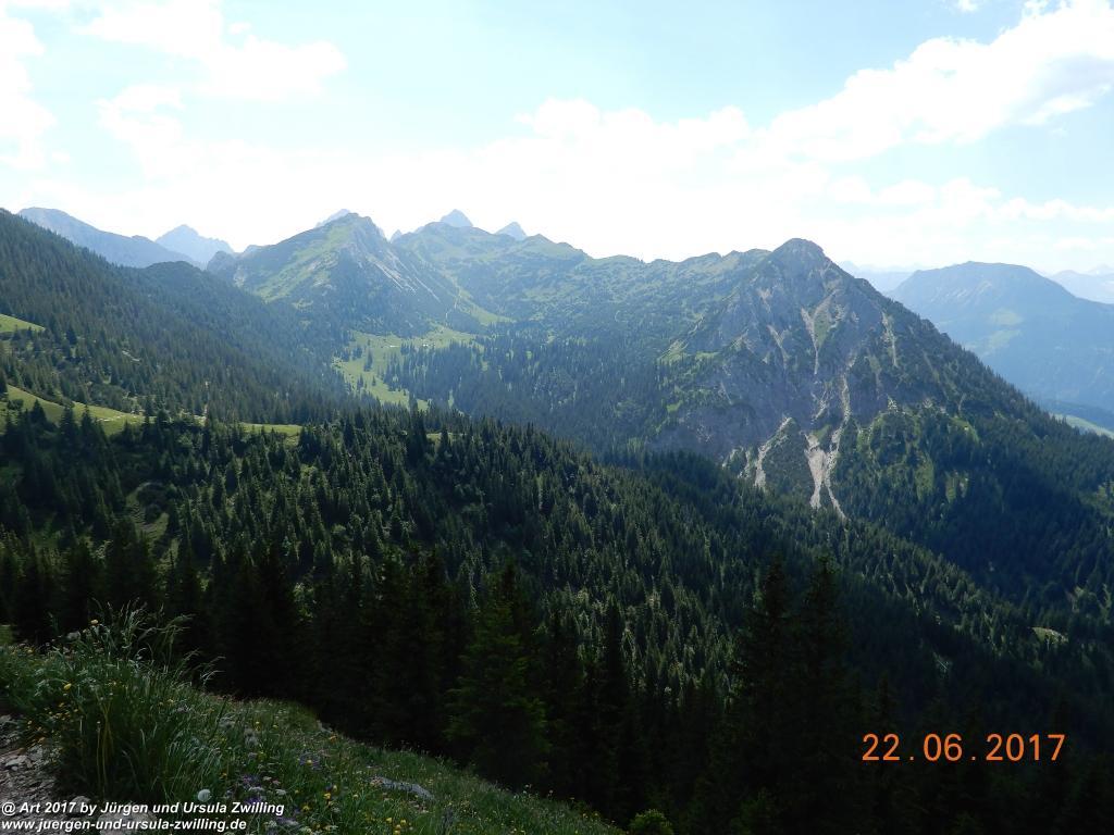 Philosophische Bildwanderung Bad Kissinger Hütte -Tannheimer Tal - Österreich
