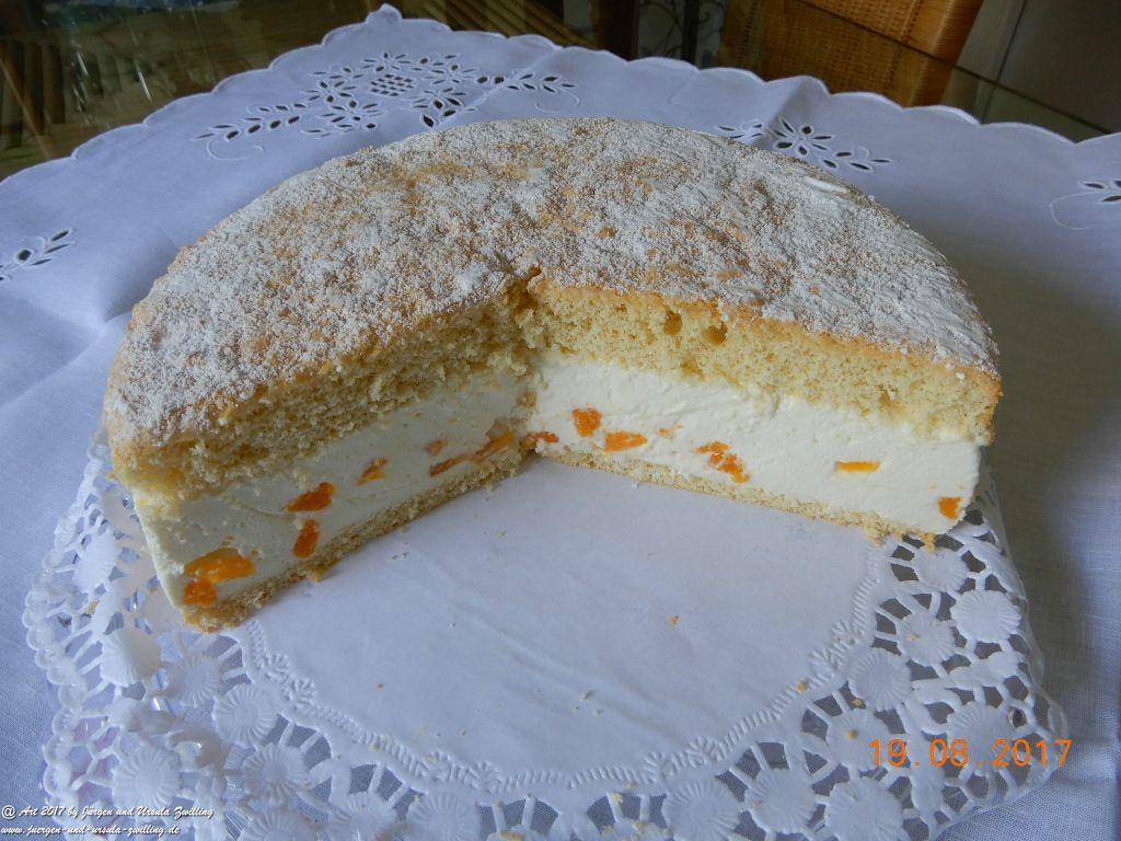 Ursula's Käsesahnetorte mit Mandarinen
