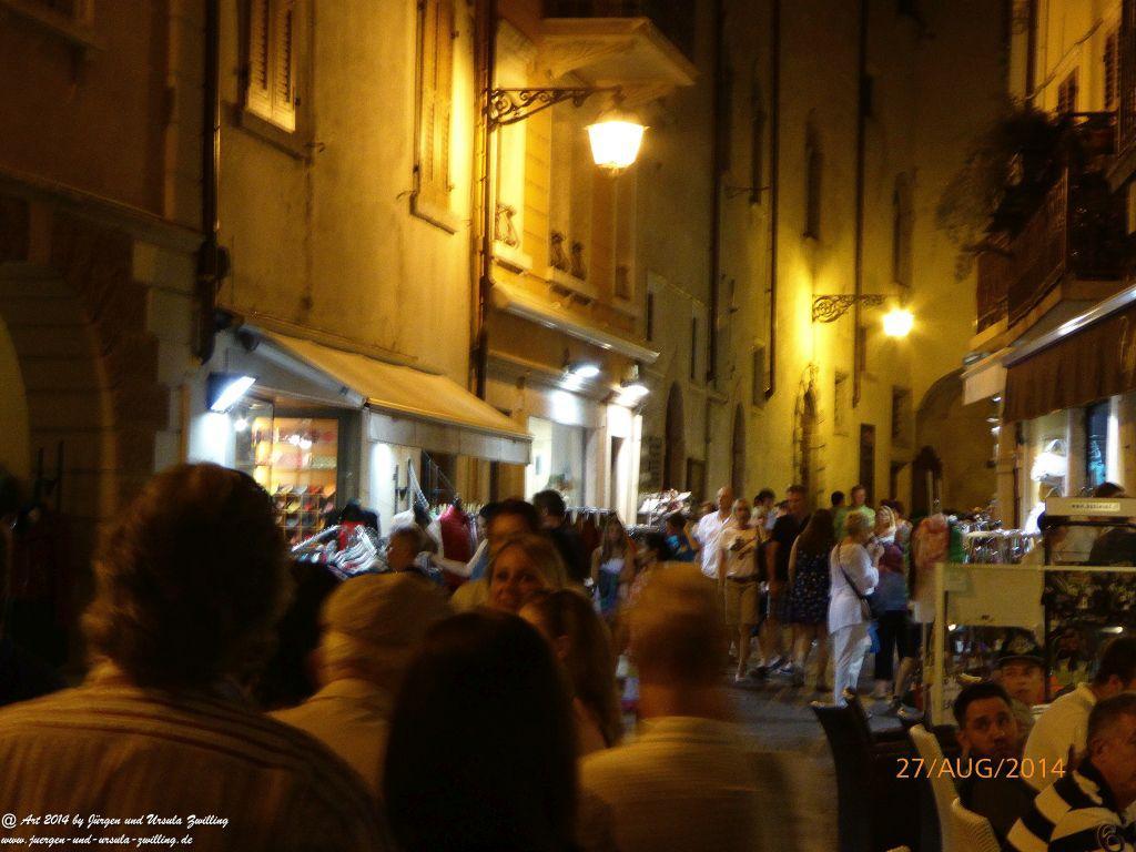 Malcesine bei Nacht -Lombardei - Brescia - Gardasee - Italien