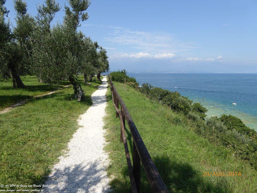 Sirmione  Lombardei - Brescia - Gardasee  - Italien