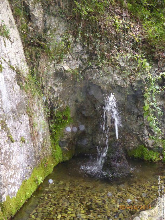Parco Grotta Cascata Varone -Lombardei - Brescia - Gardasee  - Italien