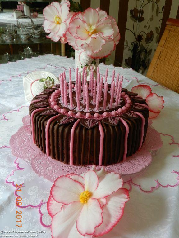 Ursula's Schoko-Geburtstagstorte zum 30zigsten