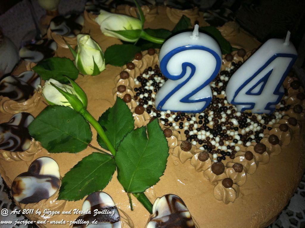 Herz-Schoko-Geburtstags-Torte