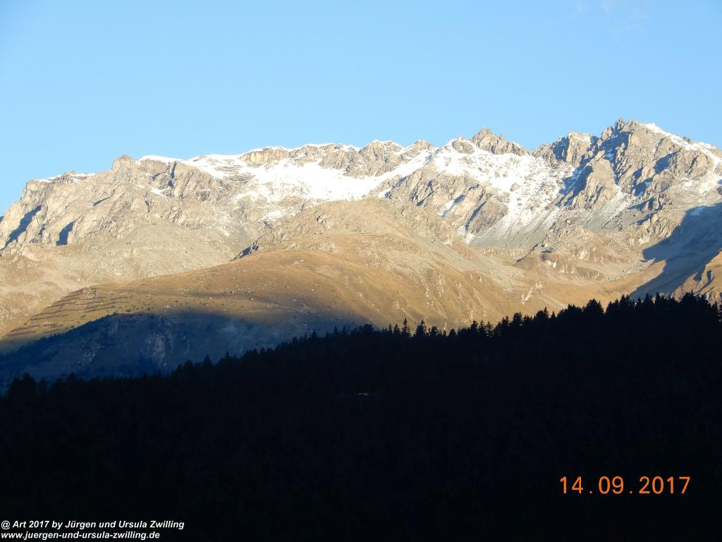 Morgenerwachen in Nauders am Reschenpass - Tirol - Landeck - Österreich