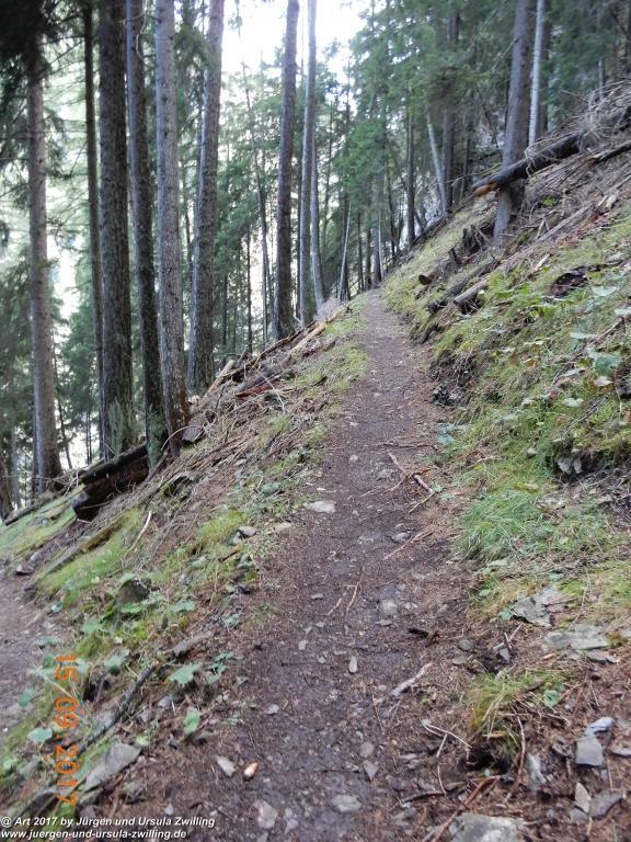 Philosophische Bildwanderung Kaiserschützenweg über die Festung in Nauders - Vinschgau - Österreich