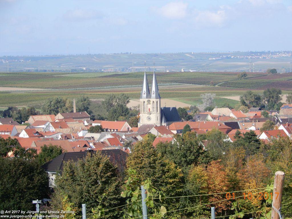 Philosophische Bildwanderung Hiwweltour-Aulheimer-Tal - Rheinhessen
