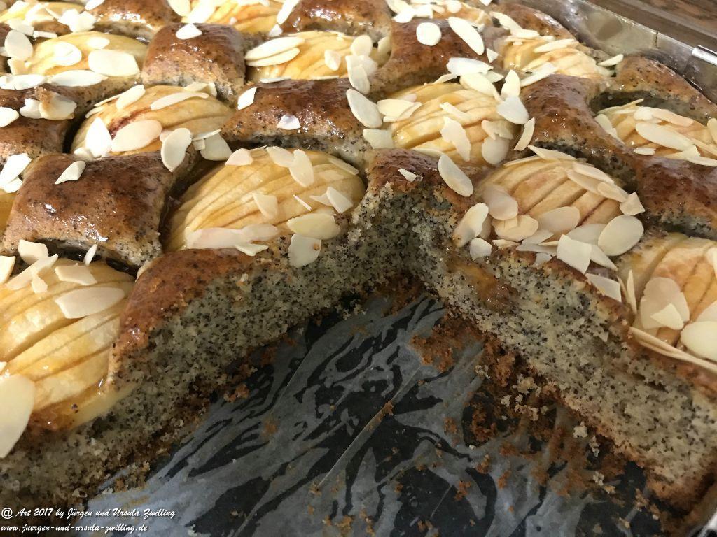 Ursula's Apfel-Mohn-Kuchen