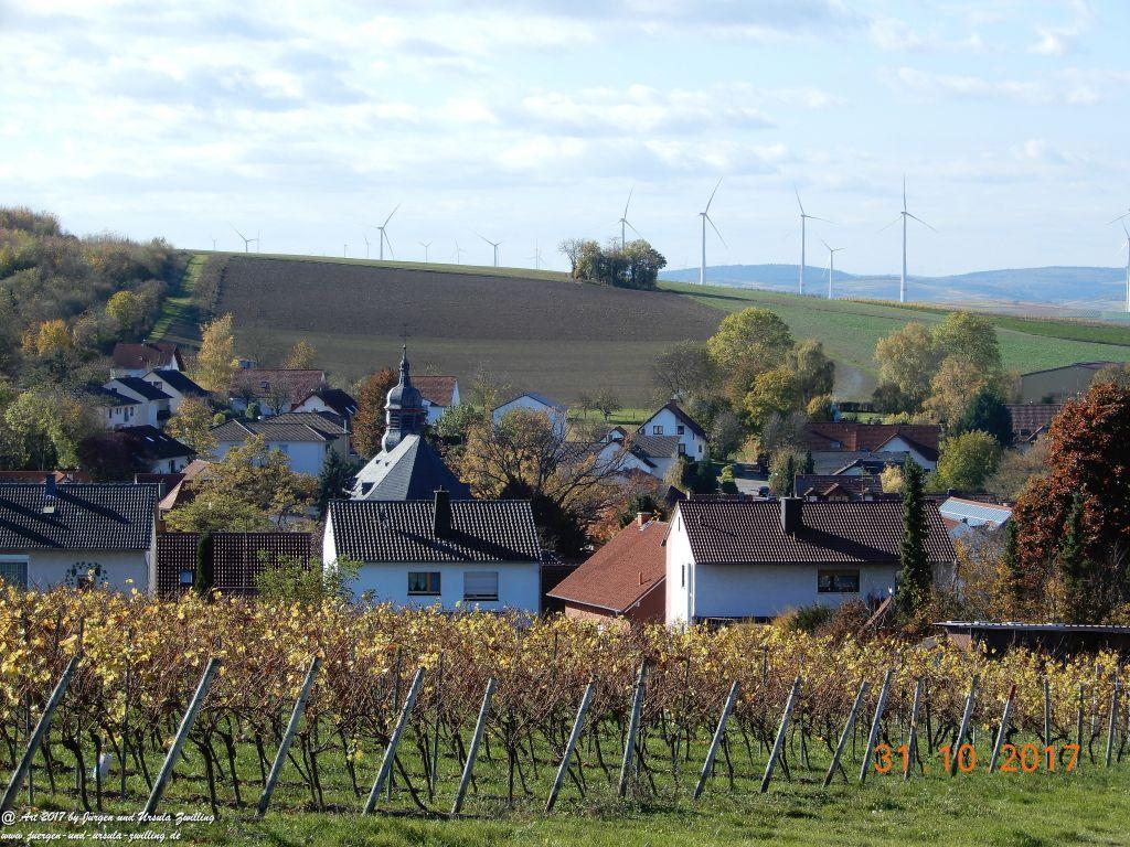 Philosophische Bildwanderung Hiwweltour Neuborn - Rommersheim (Wörrstadt) Rheinhessen