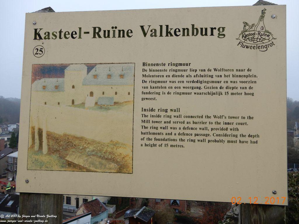 Burgruine Valkenburg - Limburg - Gemeente Valkenburg aan de Geul Niederlande