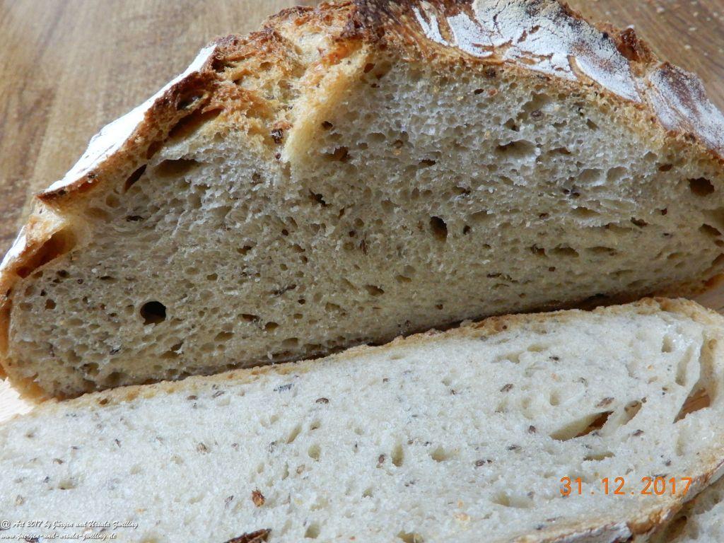 Ursula's Silverster - Neujahres Kümmel-Anis-Brot