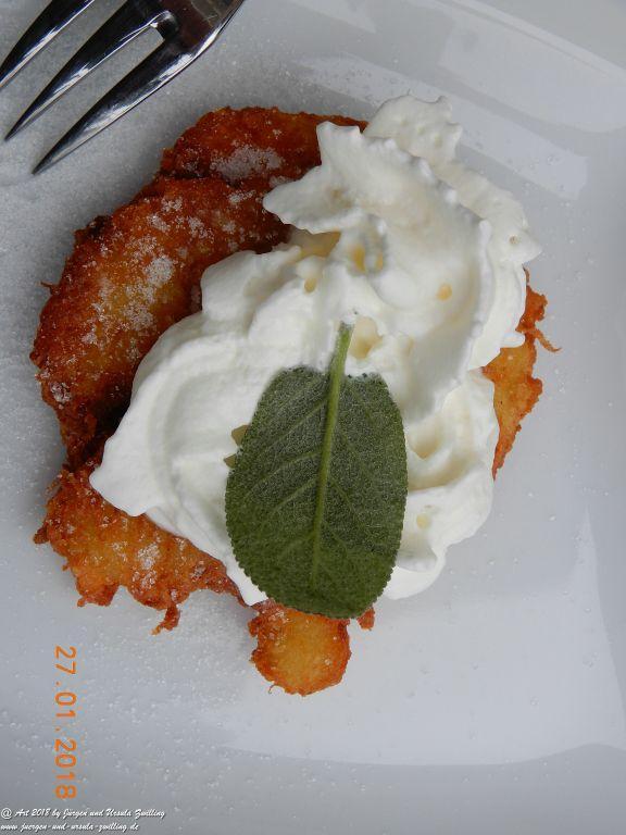Ursula's Mainzer Kartoffelpuffer (Eröffnung der Gartensaison 2018)