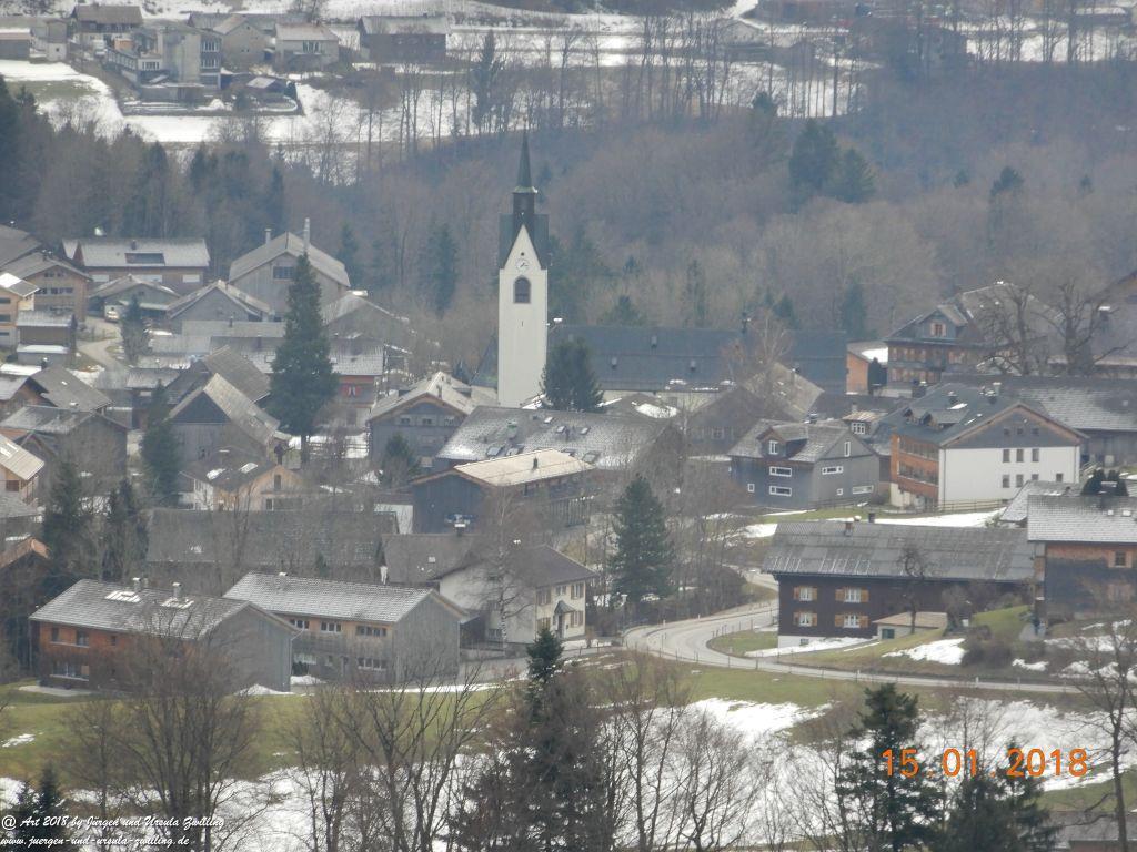 Philosophische Bildwanderung  Bödele - Oberer Geißkopf - Bergvorsäß - Lorena - Maien - Ratzen - Freien Schwarzenberg- Bregenzerwald - Vorarlberg - Österreich
