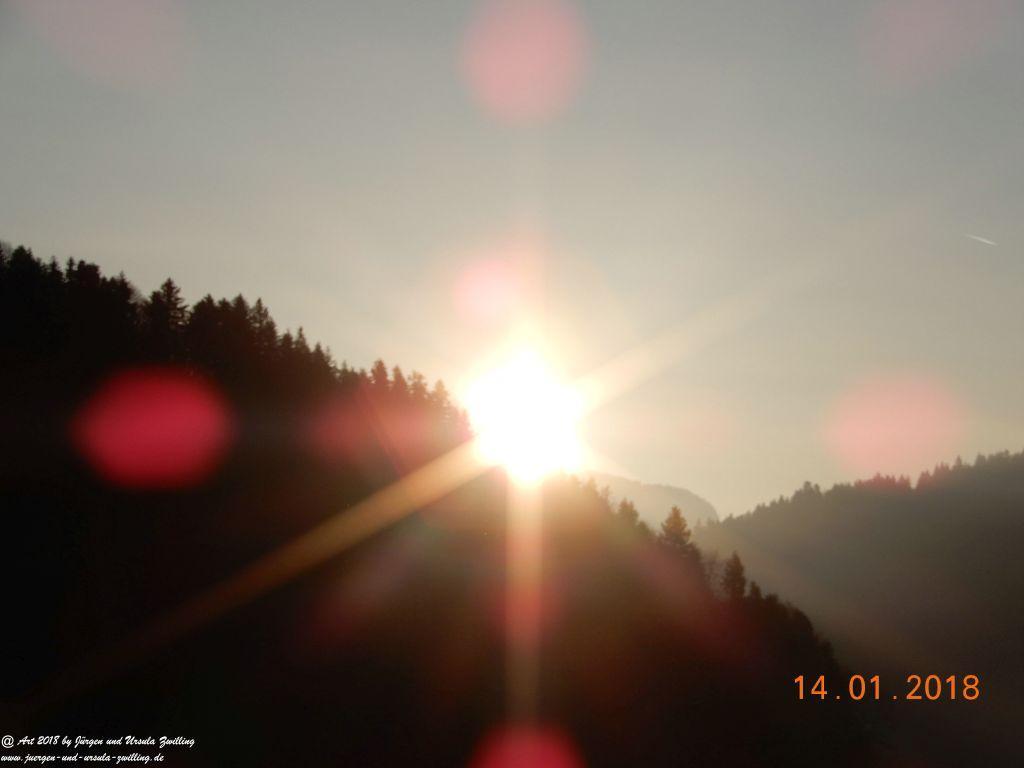 Morgenerwachen in Schwarzenberg - Bregenzerwald - Vorarlberg - Österreich