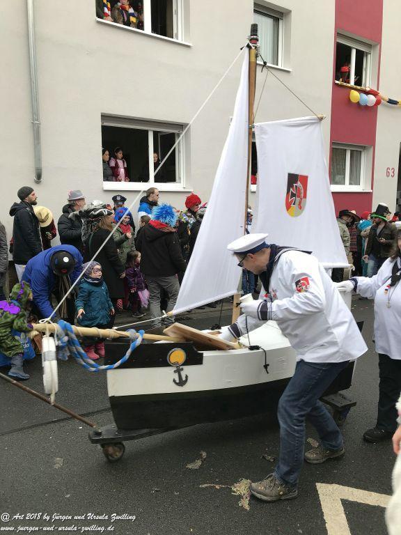 Zug der Lebensfreude (Fastnacht) in Mainz Finthen - Rheinhessen