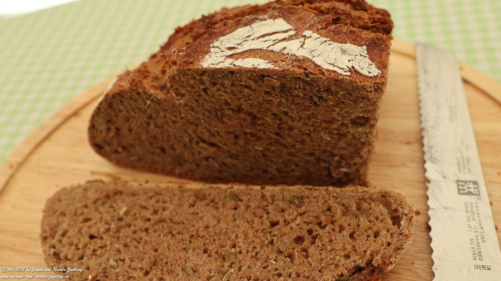 Ursula's Vollkorn -Dinkel - Brot