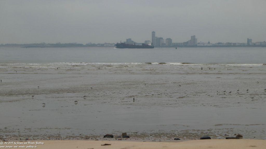 Philosophische Bildwanderung Küstenwanderung Breskens - Niederlande -Holland -Nordsee