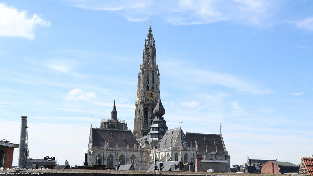 Antwerpen - Hafenstadt in der Region Flandern in Belgien