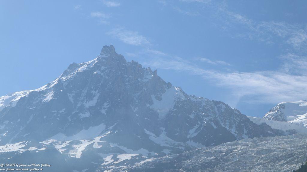 Mont Blanc und Aiguille du Midi - Frankreich