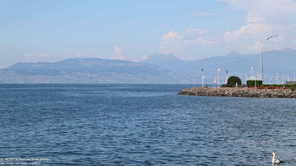 Évian-les-Bains - Genfer See - Lac Léman - Frankreich