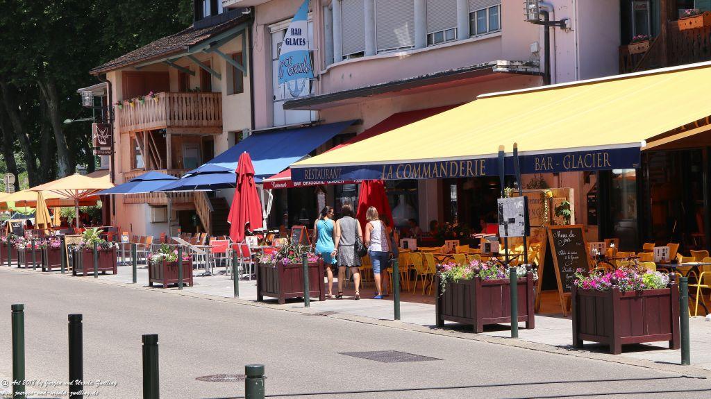 Thonon-les-Bains - Genfer See - Lac Léman - Frankreich
