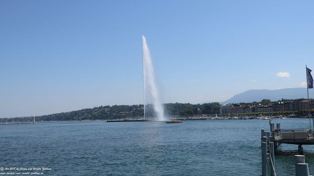 Genf - Genève - Genfer See - Lac Léman - Schweiz