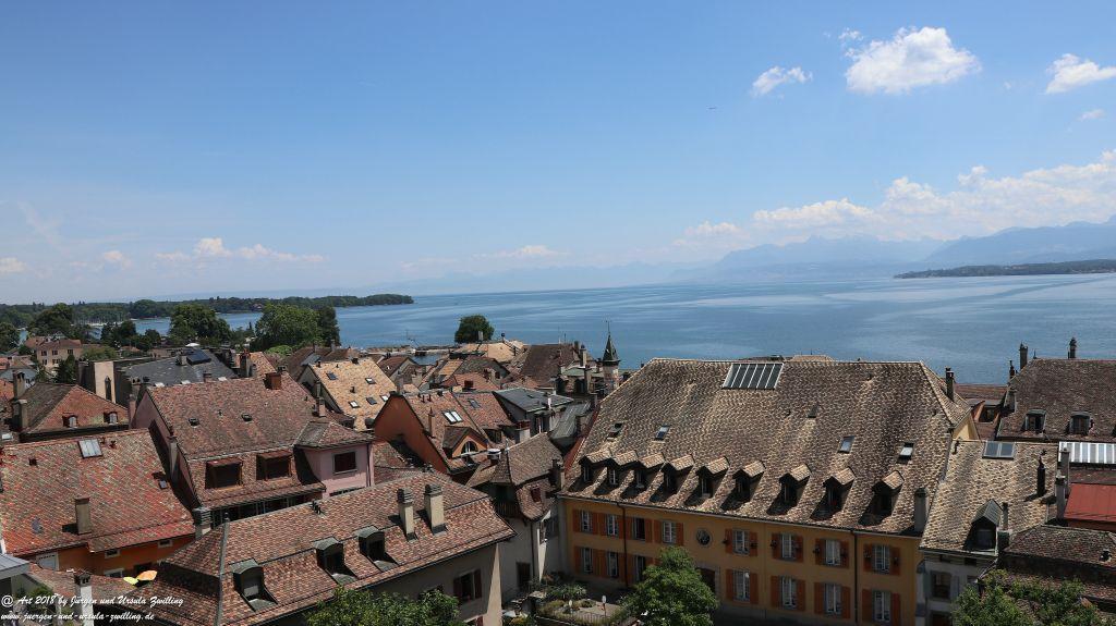 Nyon - Genfer See - Lac Léman - Schweiz