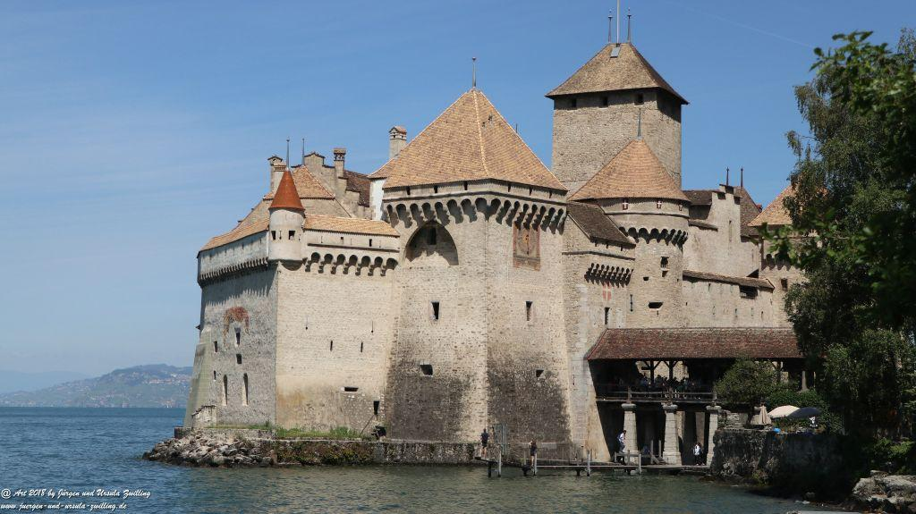 Château de Chillon - Schloss Chillon - Genfer See - Lac Léman - Schweiz