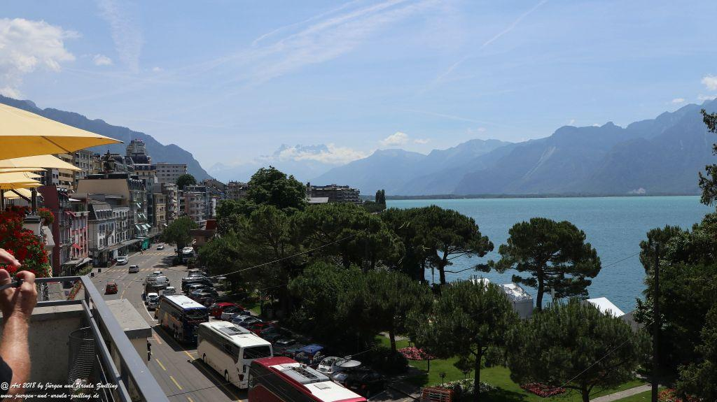 Montreux - Genfer See - Lac Léman - Schweiz