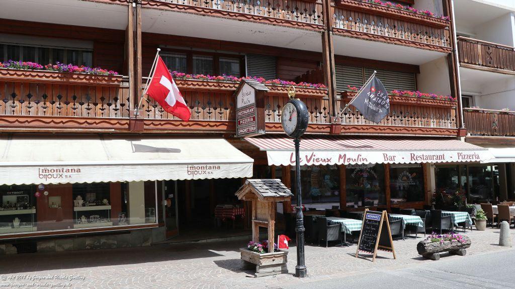 Crans-Montana im Kanton Wallis - Schweiz
