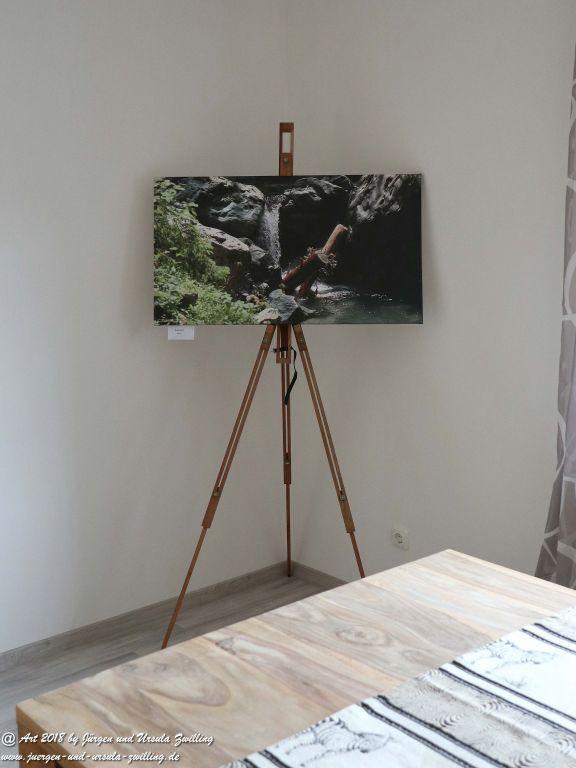 Blick und Einladung in unsere Galerie