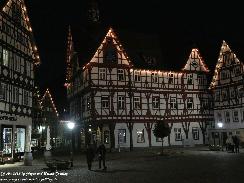 Bad Urach bei Nacht - Schwäbische Alb