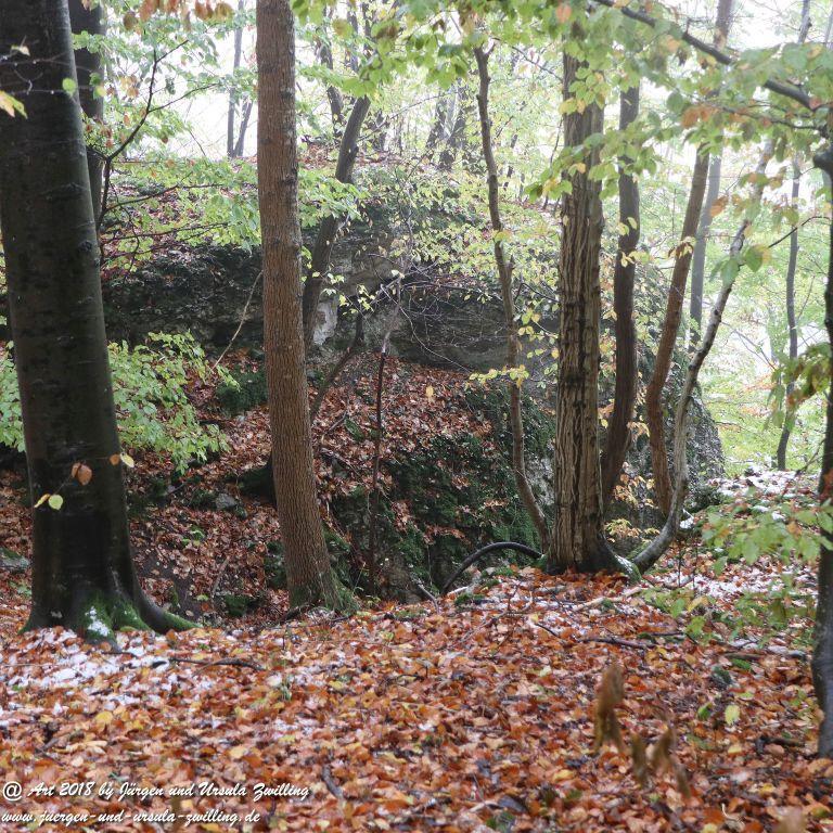 Philosophische Bildwanderung Hochbergsteig Bad Urach - Schwäbische Alb