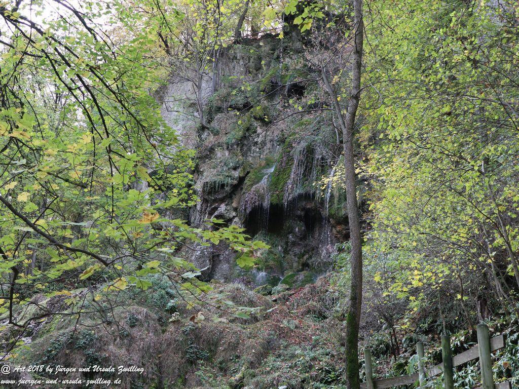 Philosophische Bildwanderung Wasserfallsteig Bad Urach - Schwäbische Alb