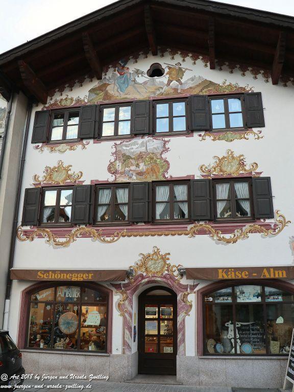 Garmisch Partenkirchen mit Weihnachtsmarkt