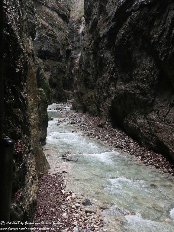 Philosophische Bildwanderung - Partnachklamm - Kaiserschmarrn Alm - Partnach Alm - Garmisch Partenkirchen