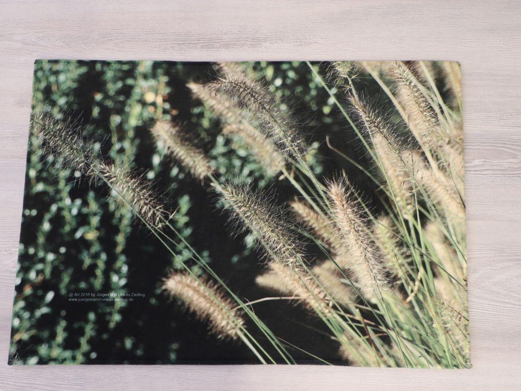 Blick und Einladung in unsere Galerie - Mit sauberem Fuß in die Galerie - Fußmatten