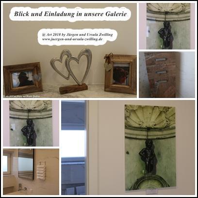Blick und Einladung in unsere Galerie - Die kleine Dinge des Lebens