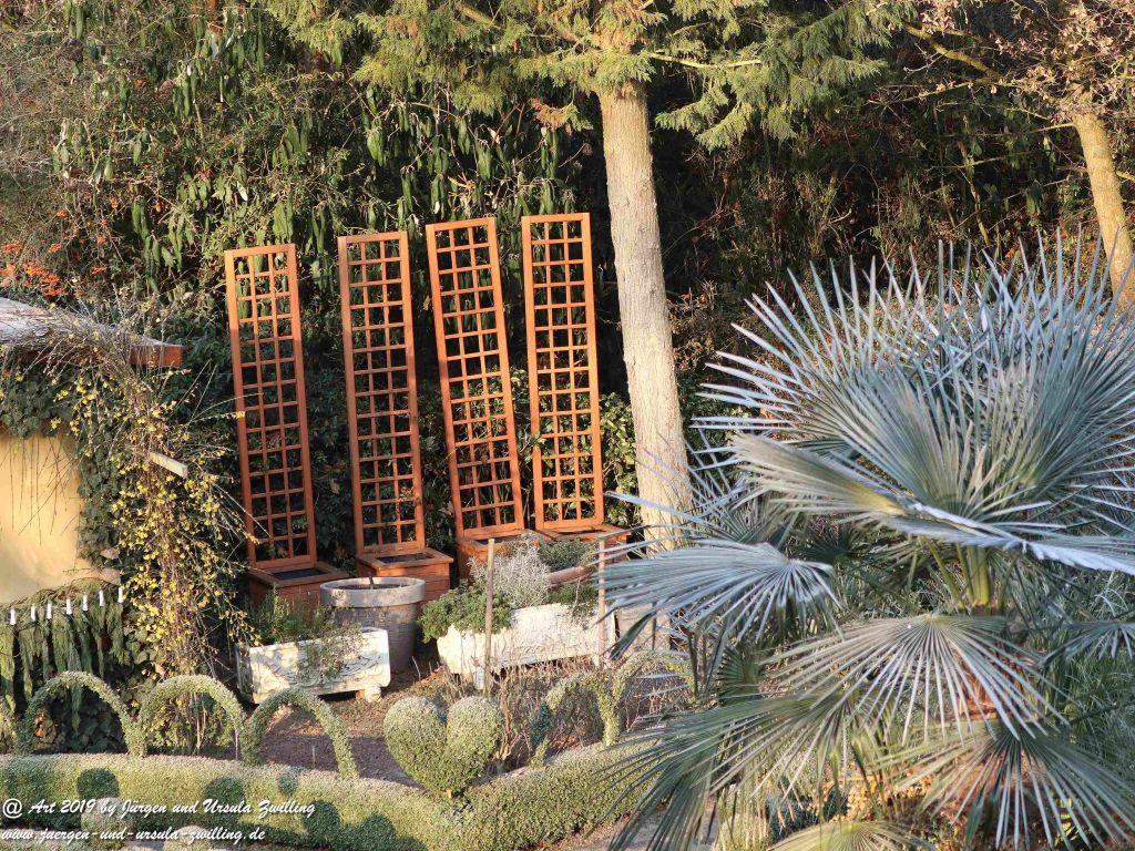 Wintersonne im Garten