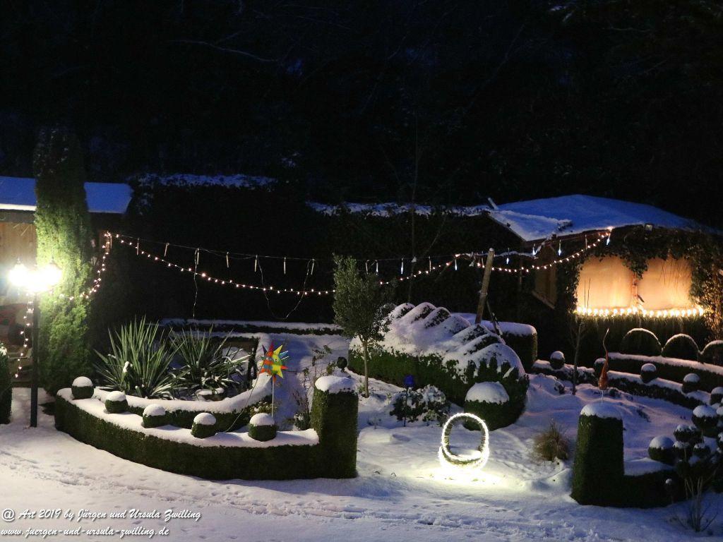 Winternacht im Garten