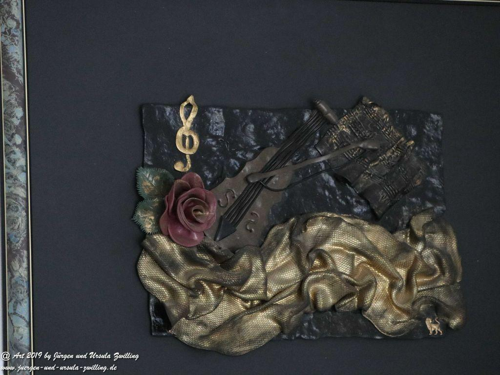 Blick und Einladung in unsere Galerie - Ursula's Fimo - Bild