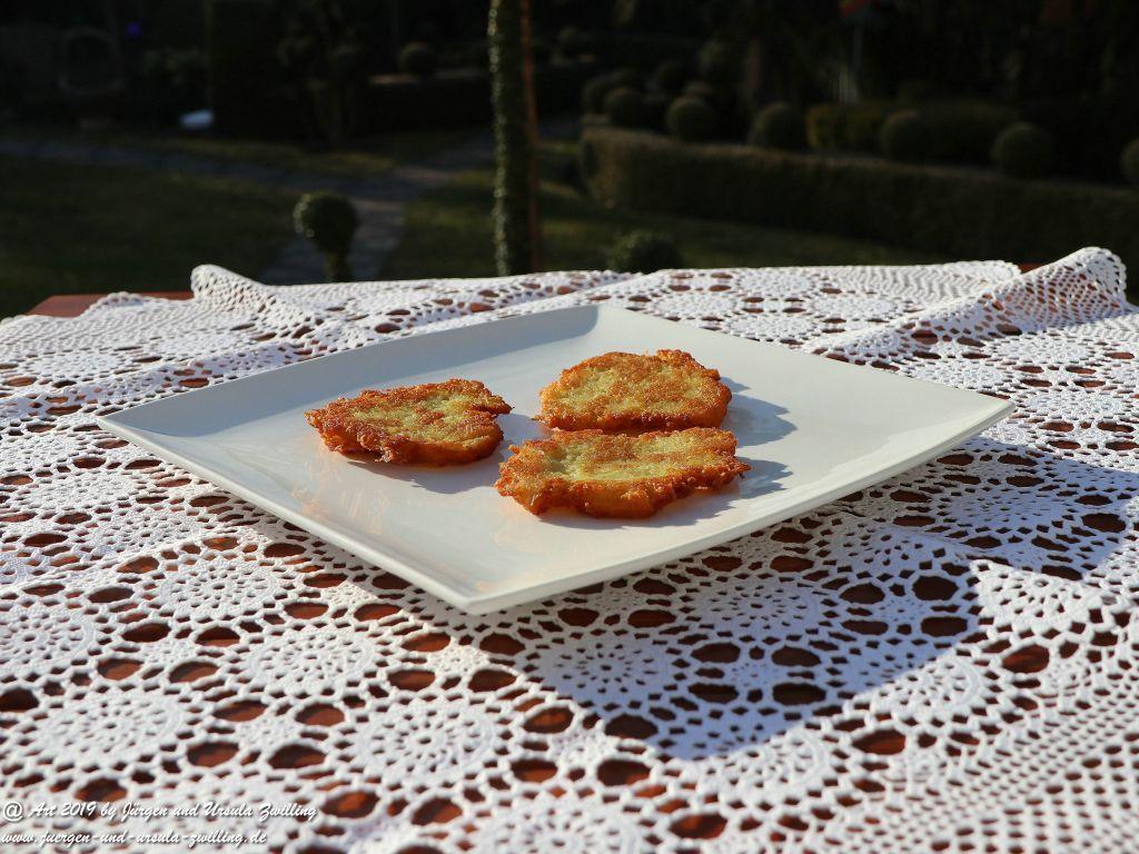 Ursula's Kartoffelpuffer -Start in die Gartensaison