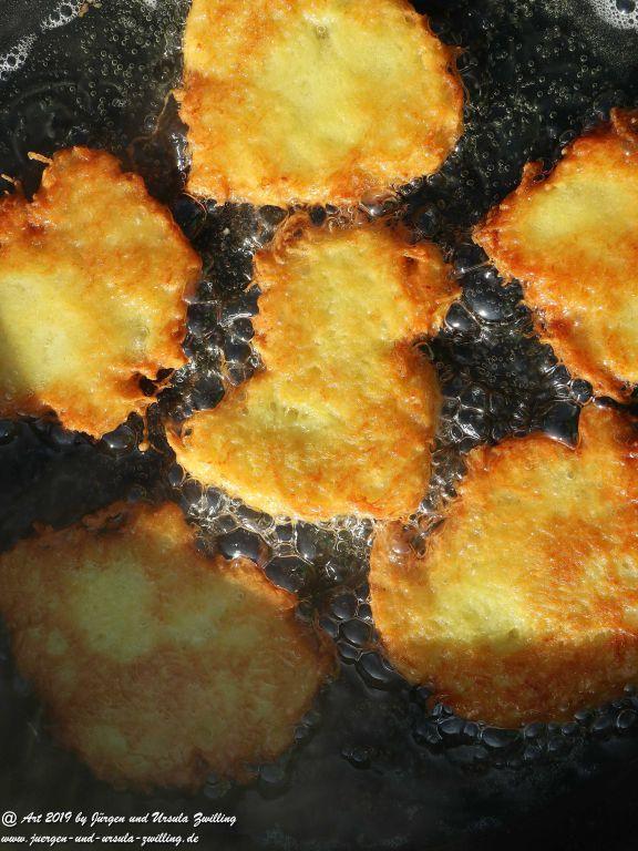 Start in die Gartensaison - Kartoffelpuffer