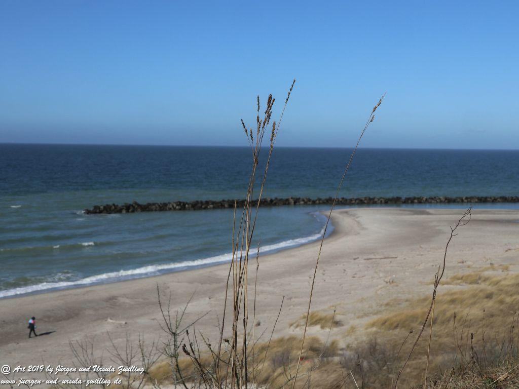 Philosophische Bildwanderung  Hohe Ufer  Ahrenshoop und Wustrow - Steilküste  -Fischland - Mecklenburg-Vorpommern - Ostsee
