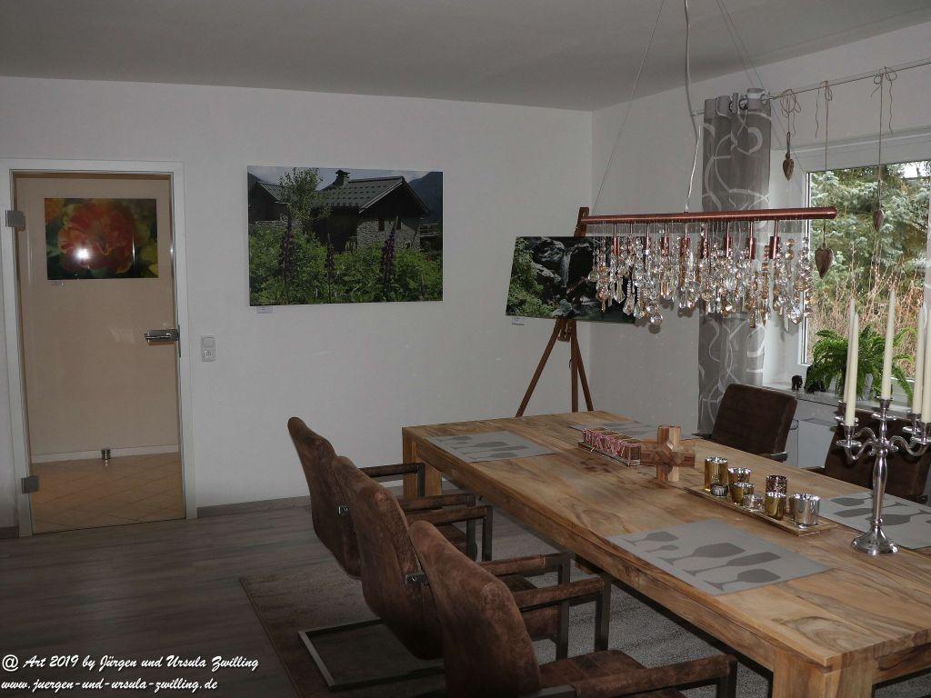 Blick und Einladung in unsere Galerie - Urig