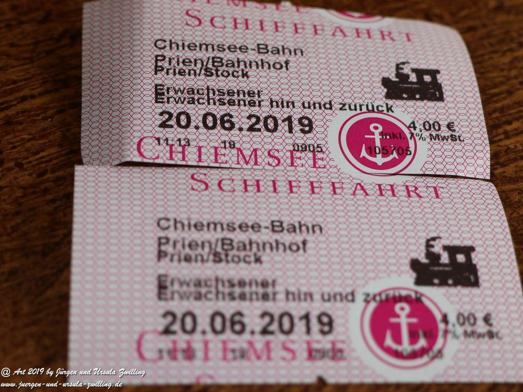 Prien - Stock Hafen am Chiemsee - Bayern
