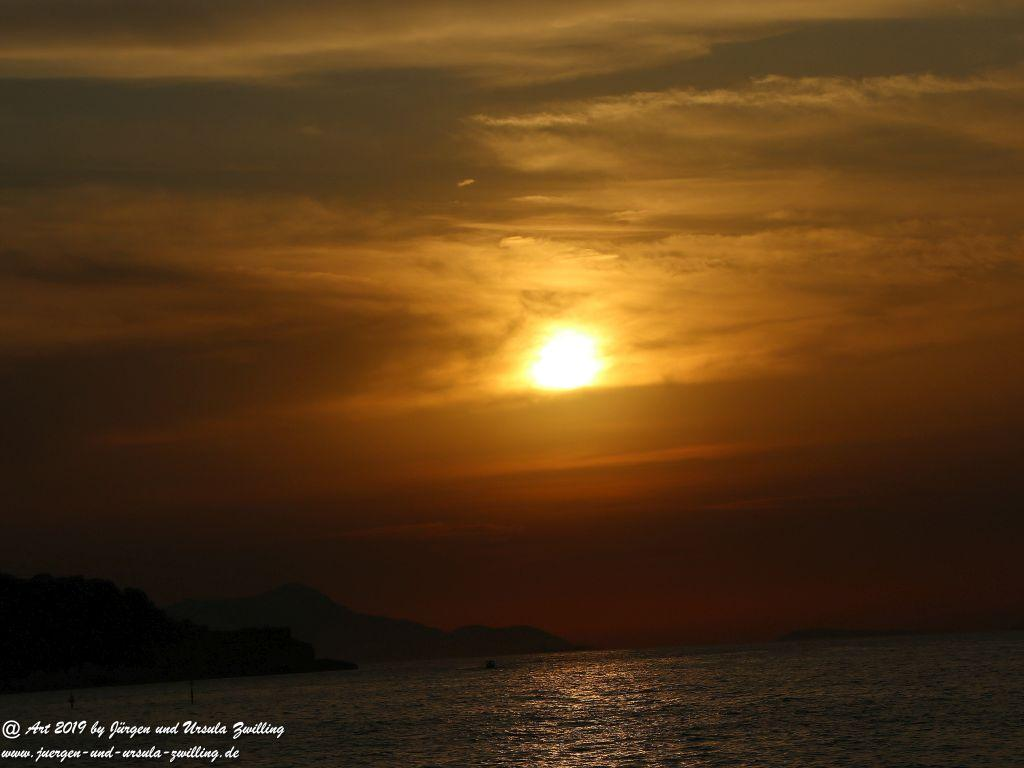 Capri - Sonne Sorrento in Kampanien -Amalfiküste - Italien