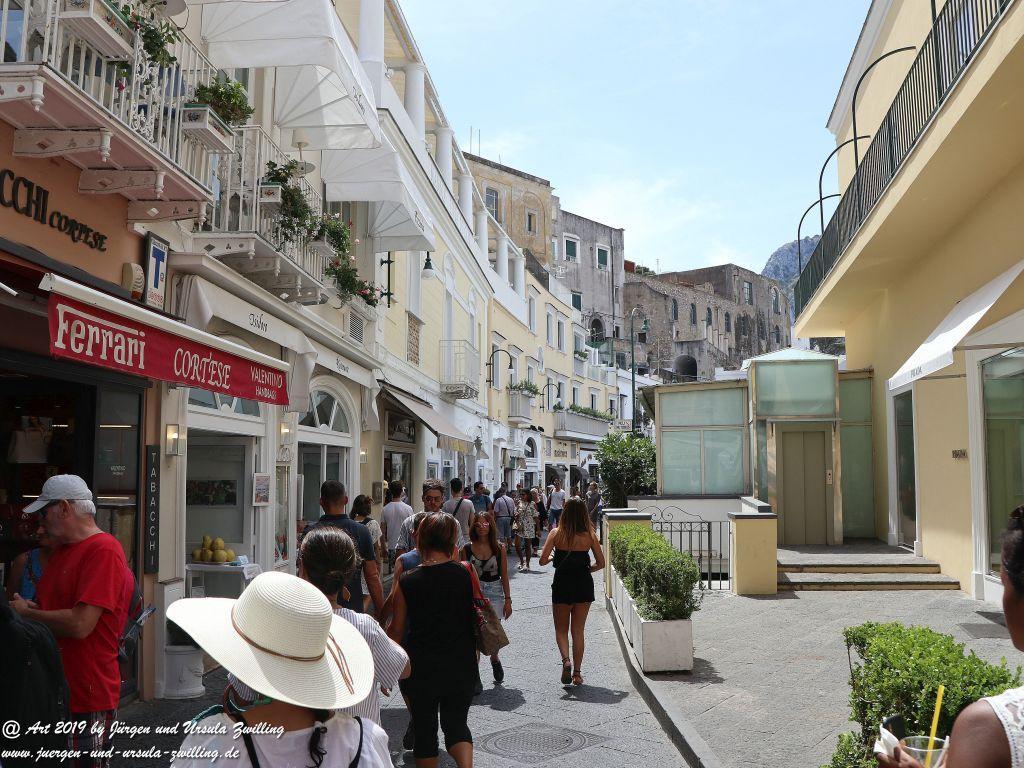 Capri im Golf von Neapel - Amalfiküste - Italien